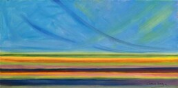 Abstract seascape oil on canvas sale cheap