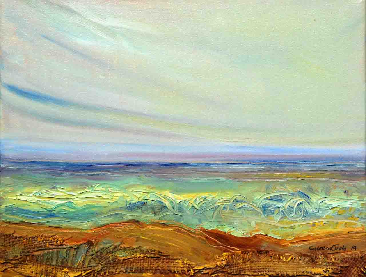 abstract painting oil on canvas, seascape,sale,buy,cheap