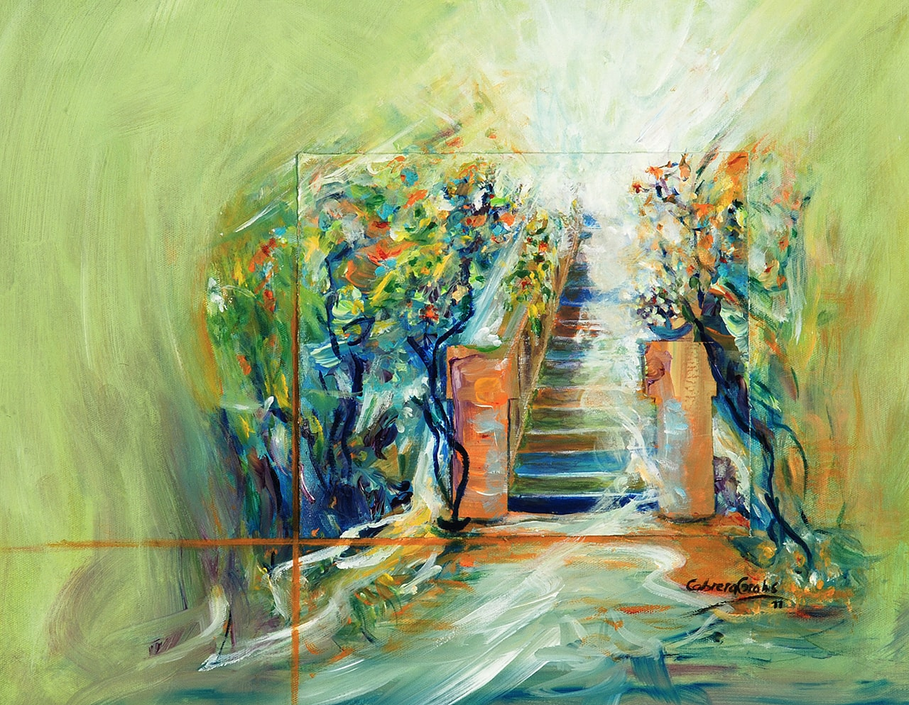 Abstract original paintings on canvas decorative sale buy contemporanean