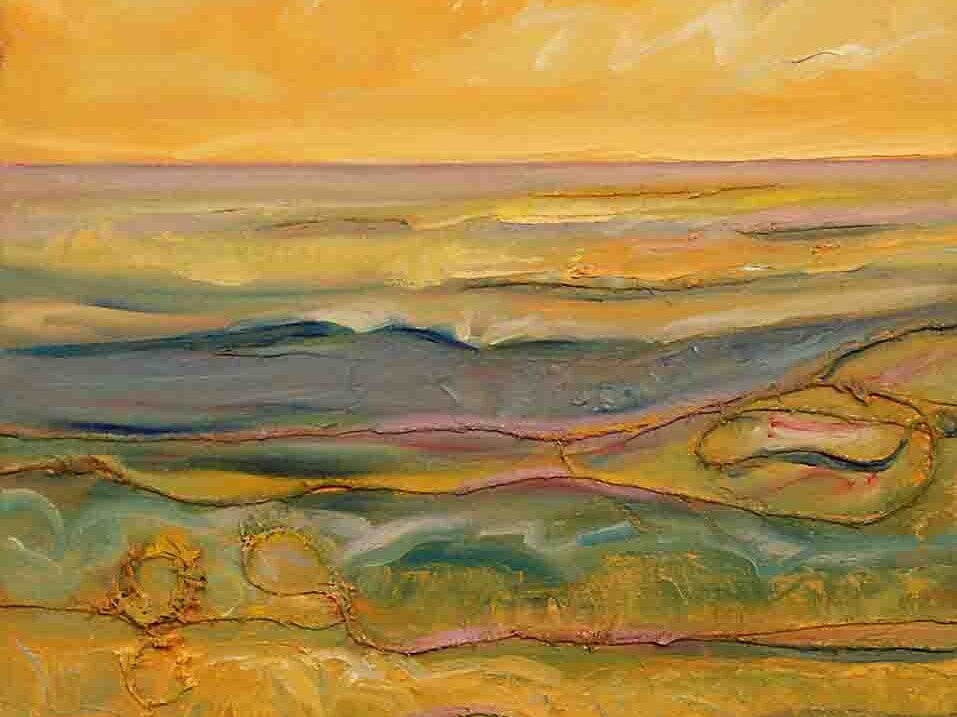 Mediterranean Sea,abstract painting oil on canvas decorative usa europe italy sale buy